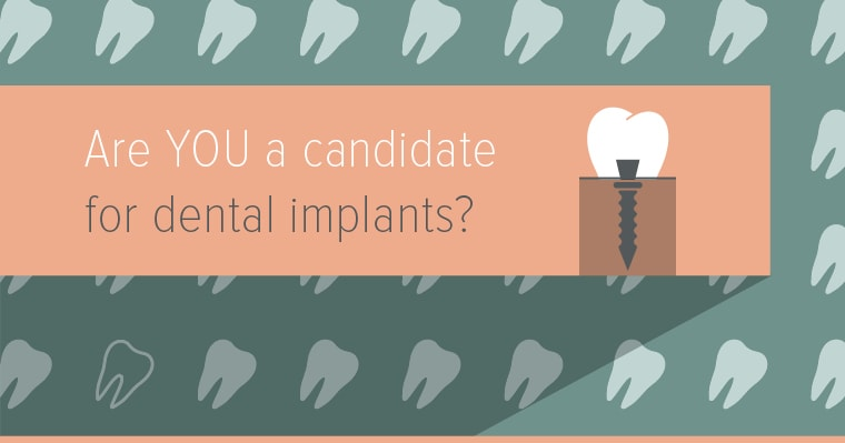 Learn if you're an ideal candidate for dental implants as a solution for your missing teeth.
