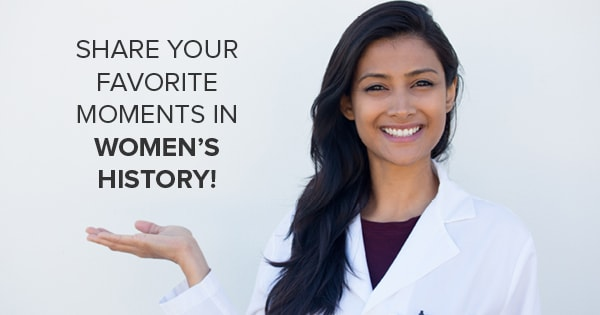 Share your favorite moment in Women's History