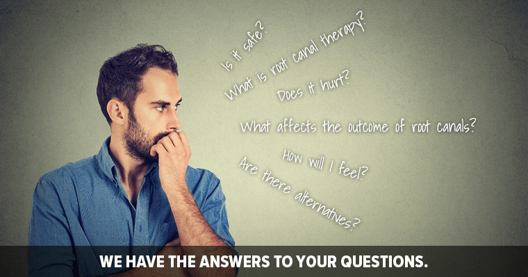 Get the answers to your top 5 root canal therapy questions answered.